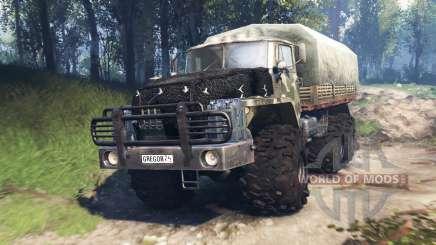 Ural-4320-10 v3.0 für Spin Tires