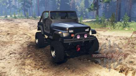 Jeep YJ 1987 pour Spin Tires