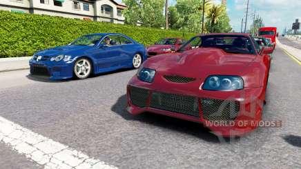 Verkehr NFS Most Wanted v2.0 für American Truck Simulator