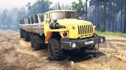Ural-4320-10 für Spin Tires