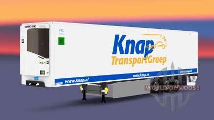 Semitrailer reefer EN Knap Transport für Euro Truck Simulator 2