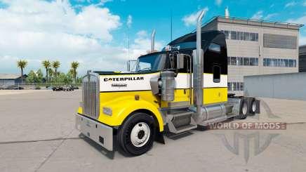 La peau de la Chenille tracteur Kenworth W900 pour American Truck Simulator