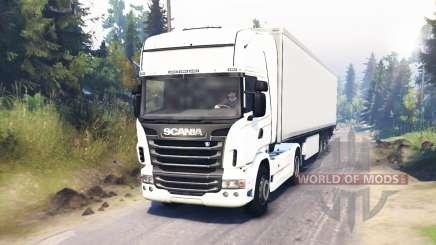 Scania R730 4x4 für Spin Tires