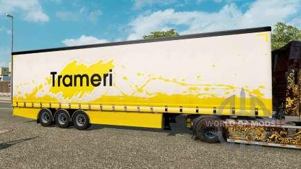 Vorhang Auflieger Krone Trameri für Euro Truck Simulator 2
