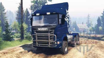 Scania R730 v2.0 pour Spin Tires