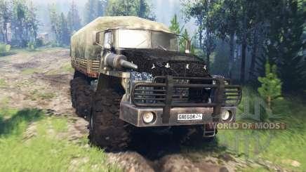 Ural-4320-10 v4.0 für Spin Tires