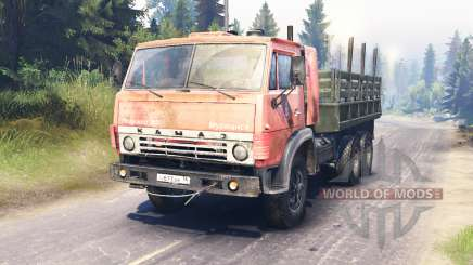 KamAZ-53212 pour Spin Tires
