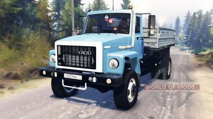 GAZ-3309 pour Spin Tires