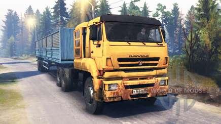 KamAZ-65226 v4.0 pour Spin Tires