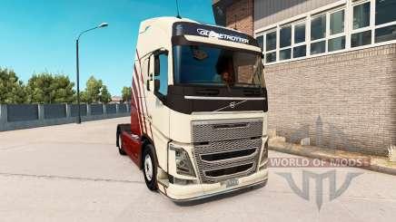 Volvo FH v0.7.5b pour American Truck Simulator