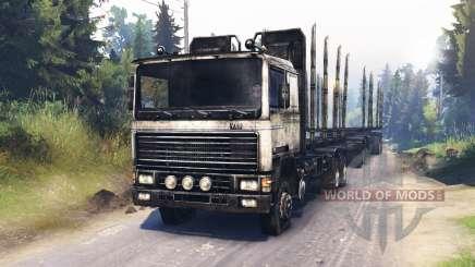 Volvo FL für Spin Tires