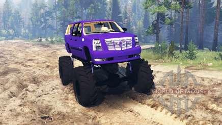 Cadillac Escalade ESV pour Spin Tires