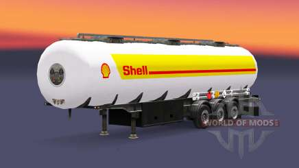Haut Schale für Kraftstoff-trailer für Euro Truck Simulator 2