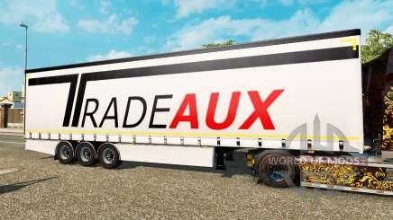 Vorhang Auflieger Krone Tradeaux für Euro Truck Simulator 2