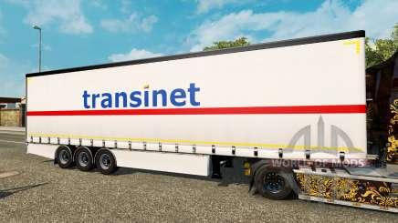 Vorhang Auflieger Krone TransiNet für Euro Truck Simulator 2