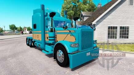 Скин Johnson Livestock LLC на Peterbilt 389 für American Truck Simulator