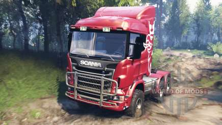 Scania R730 v3.0 pour Spin Tires