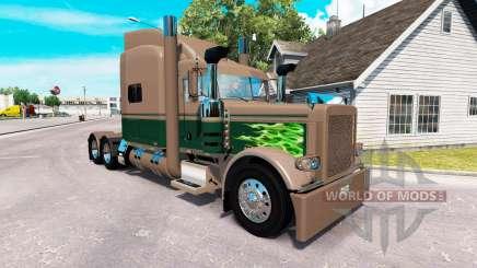 Скин Ken & Barb Cheval de bataille Montrer на Peterbilt 389 pour American Truck Simulator