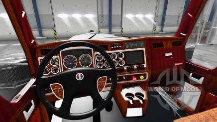 Intérieur pour Kenworth W900 pour American Truck Simulator