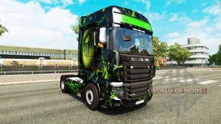 La peau Monstre sur tracteur Scania R700 pour Euro Truck Simulator 2