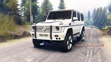 Mercedes-Benz G65 AMG für Spin Tires