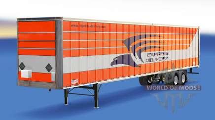 Skin Express-Lieferung auf den trailer für American Truck Simulator
