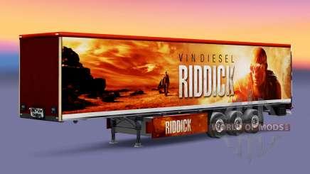 Riddick skin für Trailer für Euro Truck Simulator 2