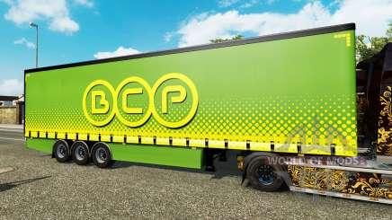Vorhang Auflieger Krone BCP für Euro Truck Simulator 2