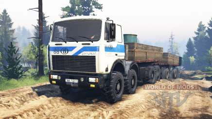 MZKT-7401 2004 v3.0 für Spin Tires