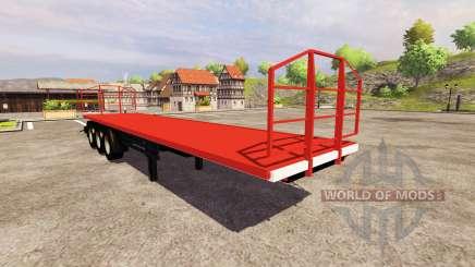 La Remorque Agroliner 40 pour Farming Simulator 2013