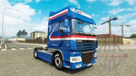 Die H. Z. Transport skin für DAF-LKW für Euro Truck Simulator 2