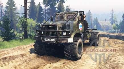 KrAZ-258 v3.0 für Spin Tires