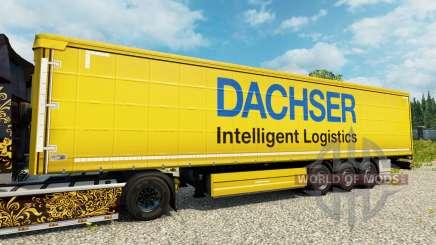 Dachser skin for trailers für Euro Truck Simulator 2