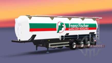 The semitrailer réservoir de Franz Fischer pour Euro Truck Simulator 2
