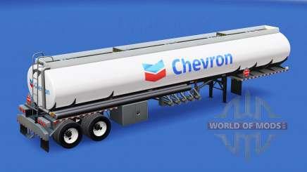 Haut Chevron in den tank für American Truck Simulator