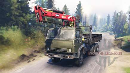 KamAZ-53212 v6.0 pour Spin Tires