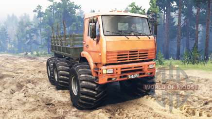 KamAZ-6522 Monstre pour Spin Tires