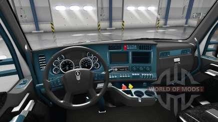 Intérieur Cadran Bleu pour Kenworth T680 pour American Truck Simulator
