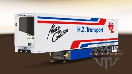 Semitrailer reefer EN and H. Z. Transport für Euro Truck Simulator 2