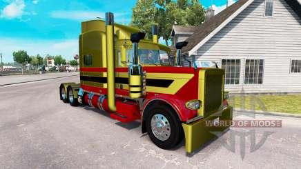 Peaux Métalliques 7 pour le camion Peterbilt 389 pour American Truck Simulator