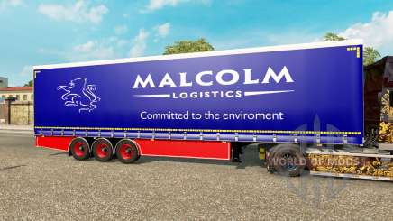Vorhang Auflieger Krone Malcolm für Euro Truck Simulator 2