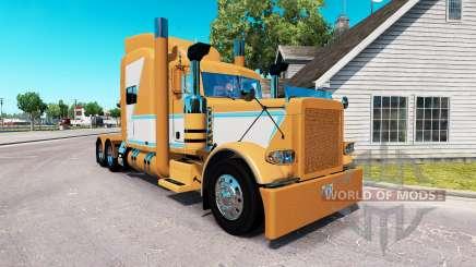 Haut für Tschad Blackwell Peterbilt 389 Traktor für American Truck Simulator