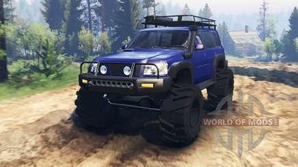 Nissan Patrol v2.0 pour Spin Tires