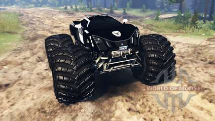 Marussia B2 Police [monster truck] pour Spin Tires