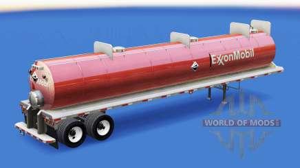 Haut ExxonMobil auf den Behälter für Säuren für American Truck Simulator