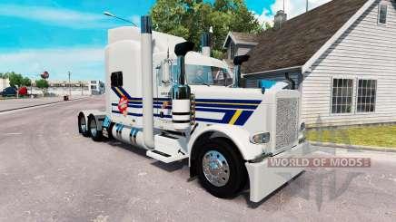 Burton Camionnage de la peau pour le camion Peterbilt 389 pour American Truck Simulator