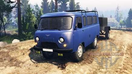 UAZ-2206 v2.0 pour Spin Tires