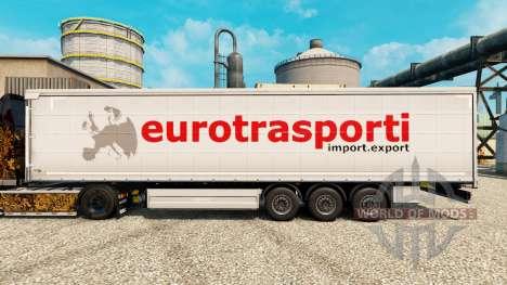 Skin Verkehr for semi Euro für Euro Truck Simulator 2