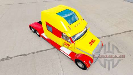 La peau DHL pour un camion Concept de camion 202 pour American Truck Simulator