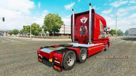 Skin-Scania-Geschichte auf die LKW-Scania T für Euro Truck Simulator 2